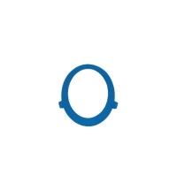 Кольцо для смотрового окна диспенсера Kimberly-Clark Aquarius 79164, синее