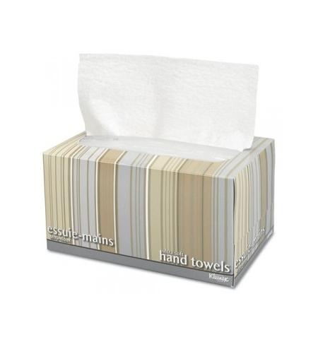 фото: Бумажные полотенца Kimberly-Clark Ultra Soft Pop-Up 11268, листовые, 70шт, 1 слой, белые