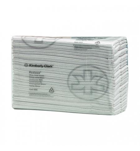 фото: Бумажные полотенца Kimberly-Clark Scott Hostess 6805, листовые, 208шт, 1 слой, белые