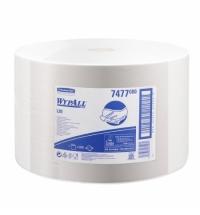 Протирочные салфетки Kimberly-Clark WypAll  L10 7477, в рулоне, 2000шт, 1 слой, белые
