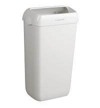фото: Контейнер для мусора Kimberly-Clark Aquarius 6993, 50л, с крепежом для стены, белый
