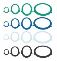фото: Диспенсер для протирочных материалов в рулонах Kimberly-Clark Aquarius 7018 с центральной вытяжкой, белый