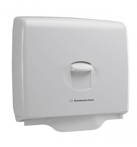 фото: Диспенсер для покрытий на унитаз Kimberly-Clark Aquarius 6957, белый